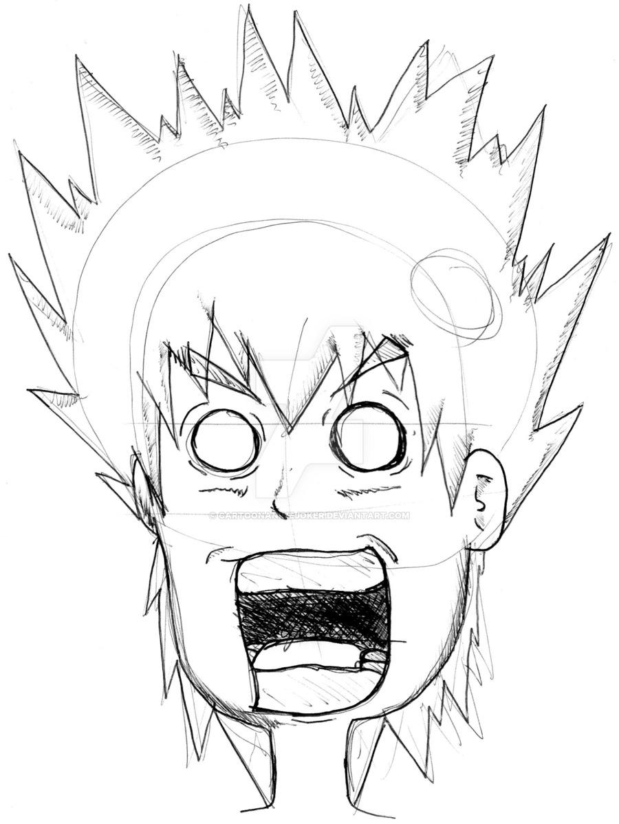 900x1198 Scary Face By Cartoonanimejoker