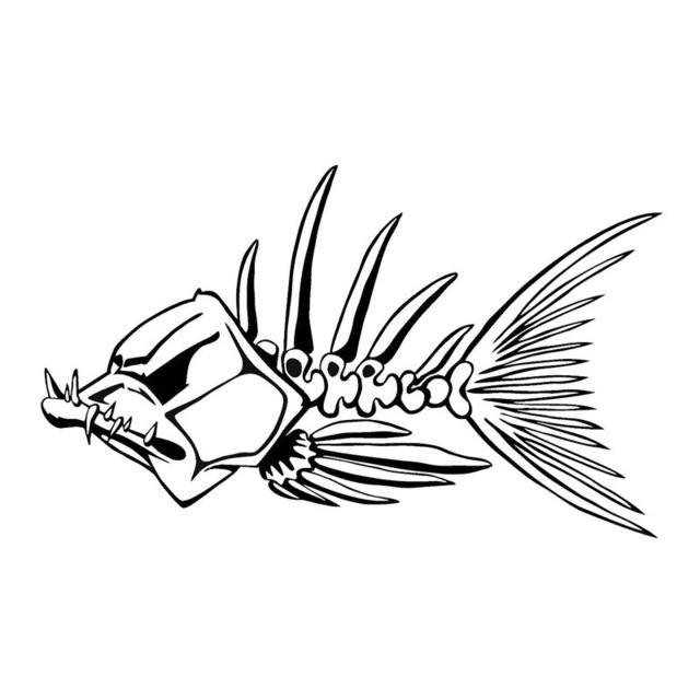 Funny Fish Drawing
