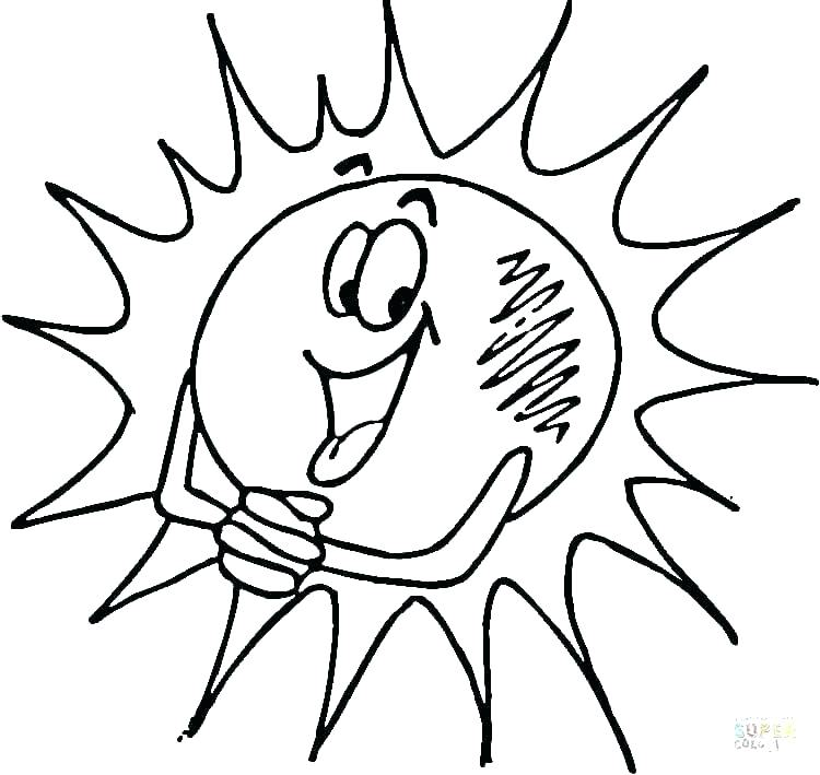 750x709 Entertaining Smiley Face Coloring Page Print Pages Of The Sun