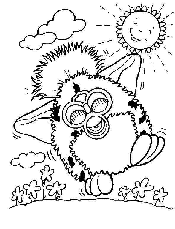 Furby Drawing
