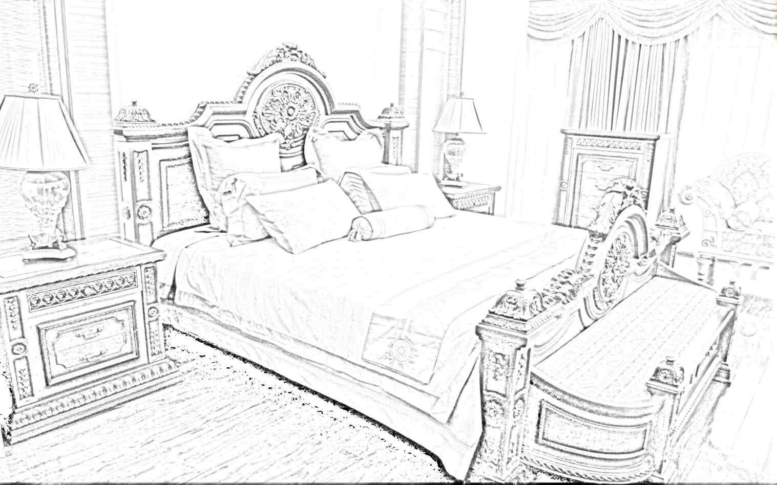 1517x948 Drawings Interior Design Sketches Bedroom Not Only Room Drawing
