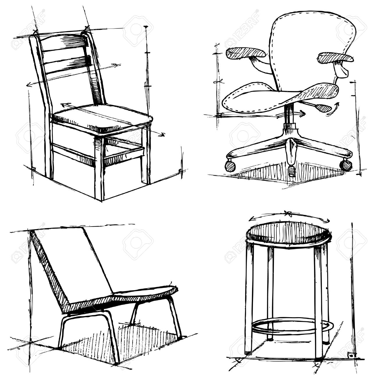 chair design sketches. Beautiful Chair 1300x1300 Pictures Furniture Design Drawing With Chair Sketches