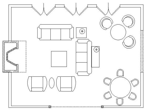 Furniture Drawing At Getdrawings Free