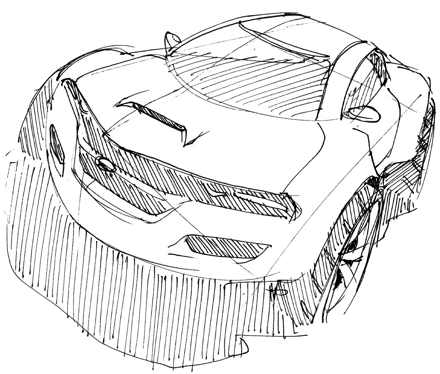 1443x1227 Future Car Drawing Amazing Wallpapers