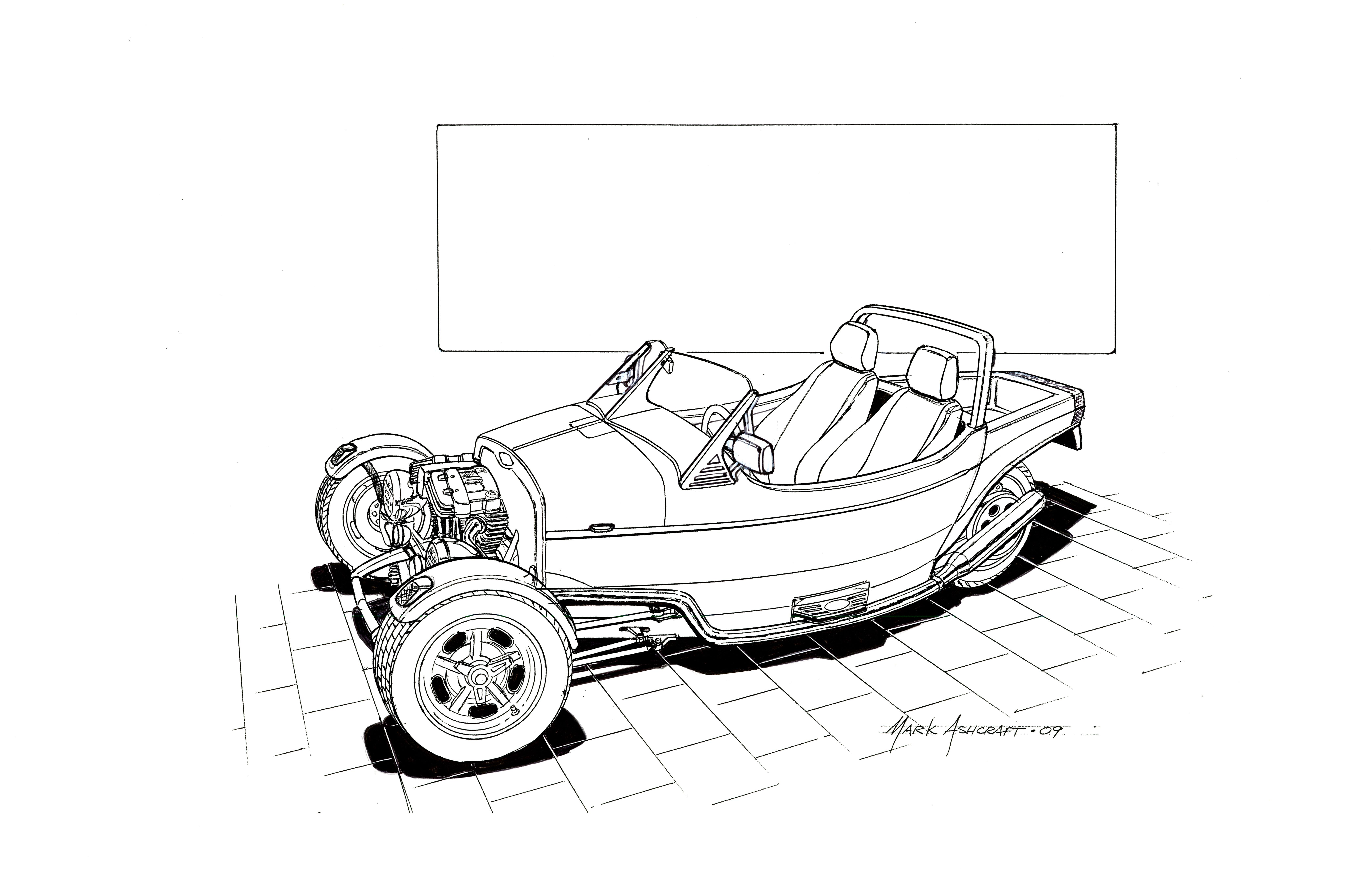 Line Drawing Jaguar : Future car drawing at getdrawings free for personal use