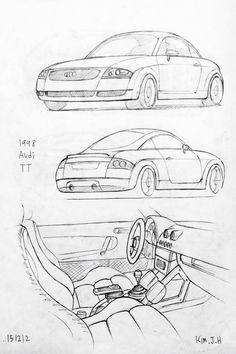 236x354 Car Drawing 151211 2015 Bmw M6. Prisma On Paper. Kim.j.h Car