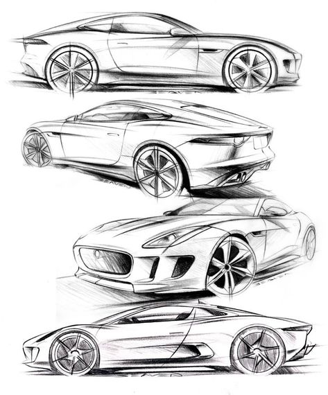 Future Cars Drawing