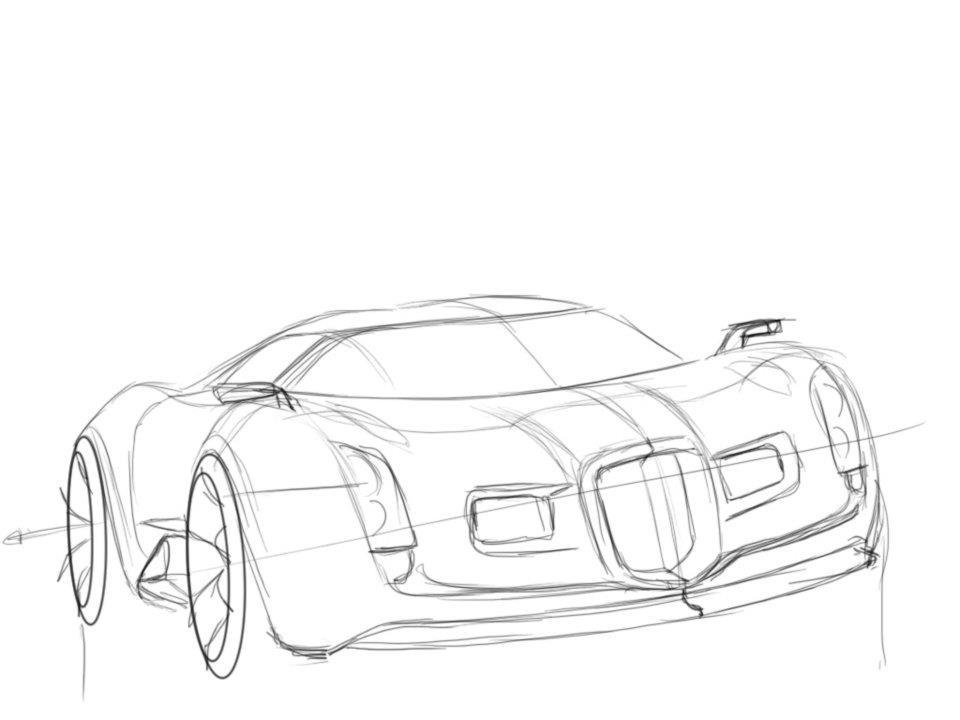 Line Drawing Jaguar : Future cars drawing at getdrawings free for personal use