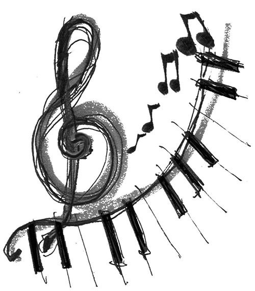 G Clef Drawing