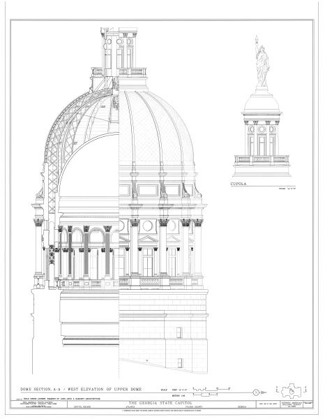 466x600 Filegeorgia State Capitol, Capitol Square, Atlanta, Fulton County