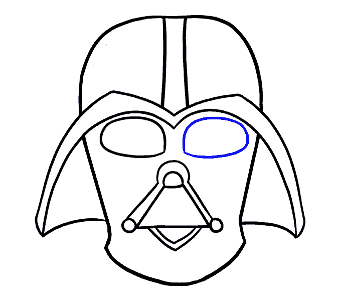 678x600 How To Draw Darth Vader In A Few Easy Steps Easy Drawing Guides