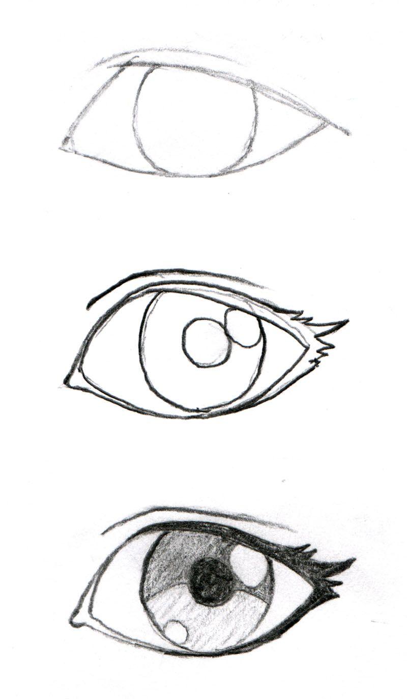 800x1373 Johnnybro's How To Draw Manga Drawing Manga Eyes (Part I