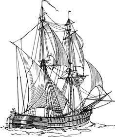 236x281 Spanish Galleons Spanish Galleon Sailing The Seas Tall Ships