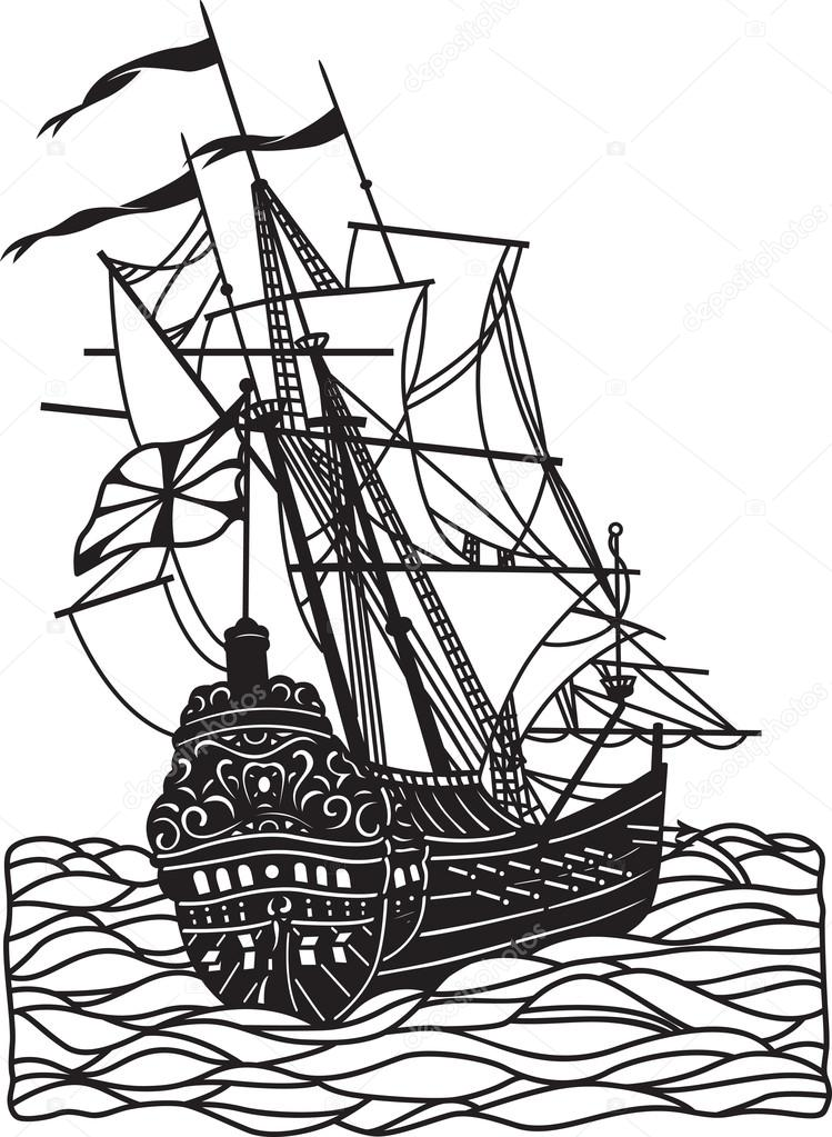 749x1023 Pin Old Sailing Ship Drawings Http Www Pic2fly Com Old Sailing