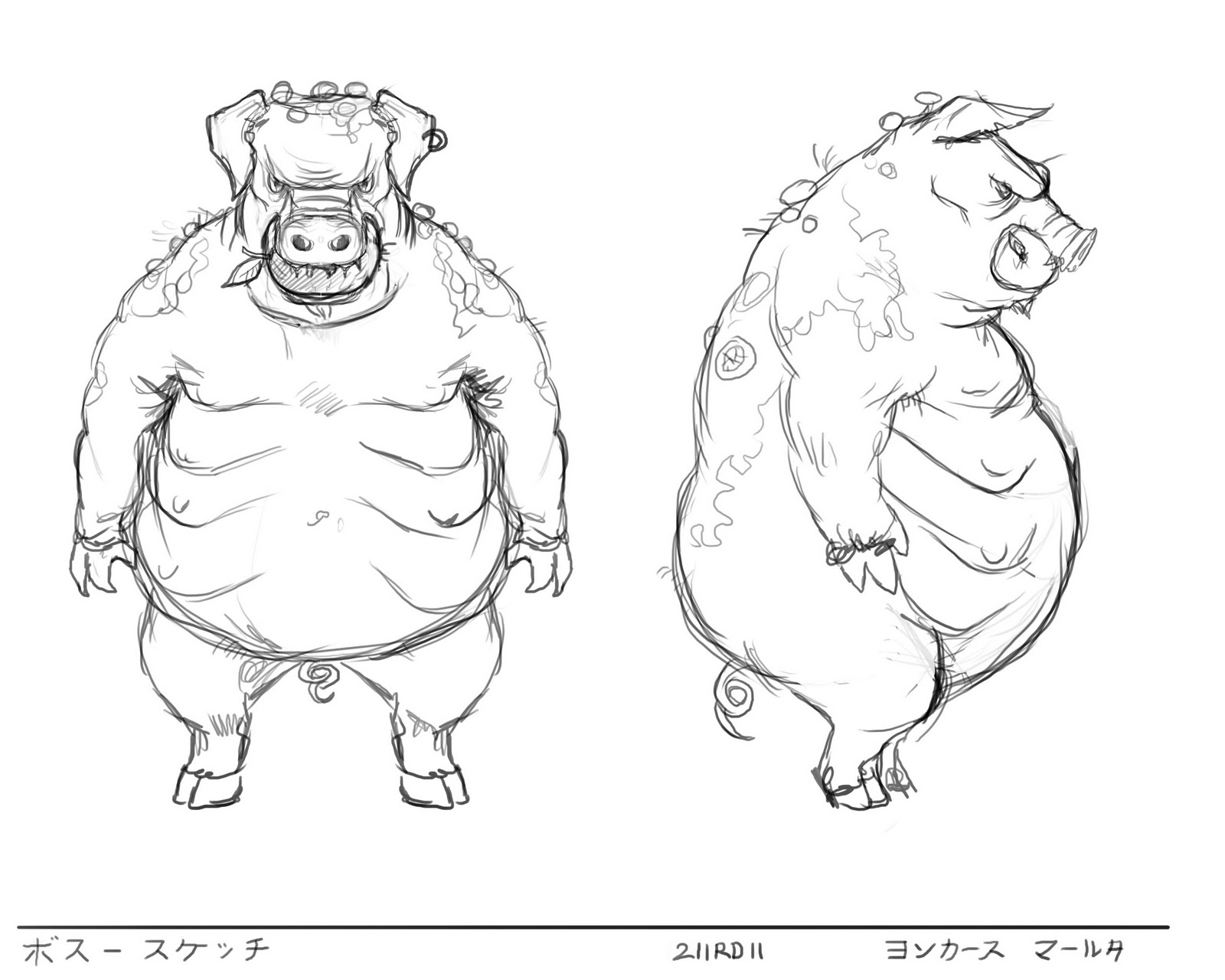 1600x1280 Marthe Sketches Game Character Design Class