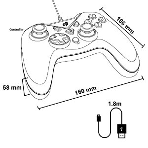 Game Console Drawing