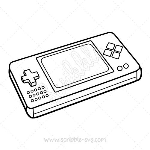 501x501 Handheld Game Console