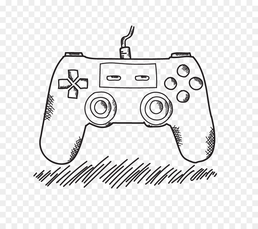 Game Console Drawing At Getdrawings Com