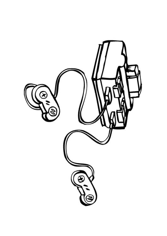 531x750 Coloring Page Game Console