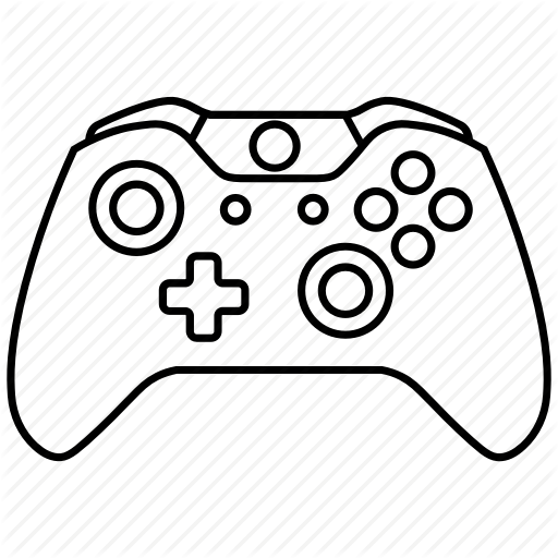 Scribble Drawing Xbox One : Game console drawing at getdrawings free for