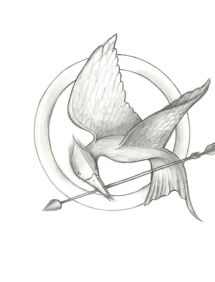 900x1182 Hunger Games Mockingjay By Sonire
