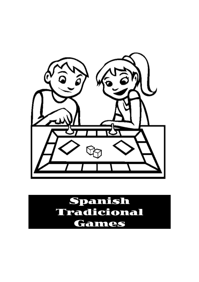 638x903 Spanish Traditional Games