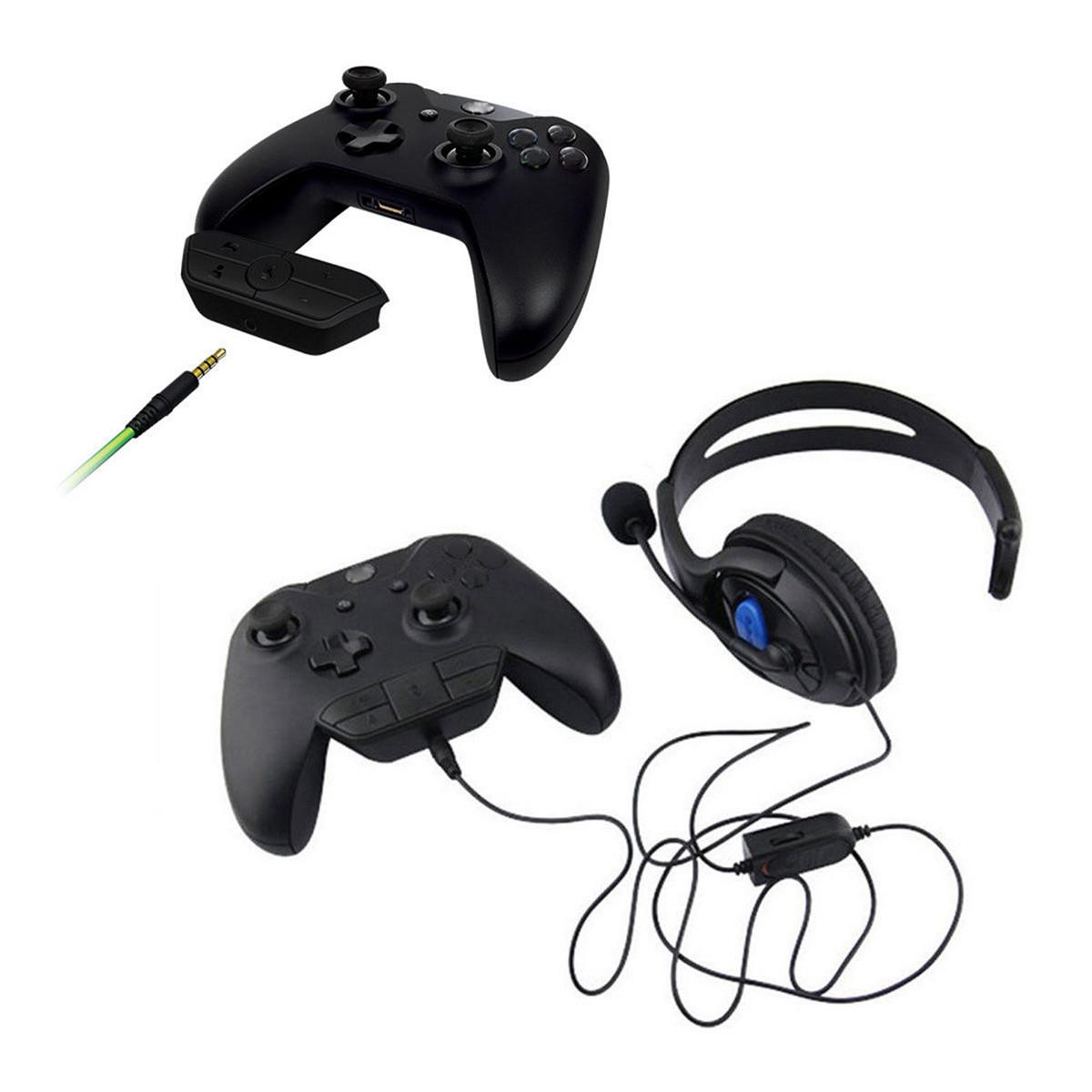 1200x1200 Gamepad Stereo Headset Headphone Audio Gaming Adapter
