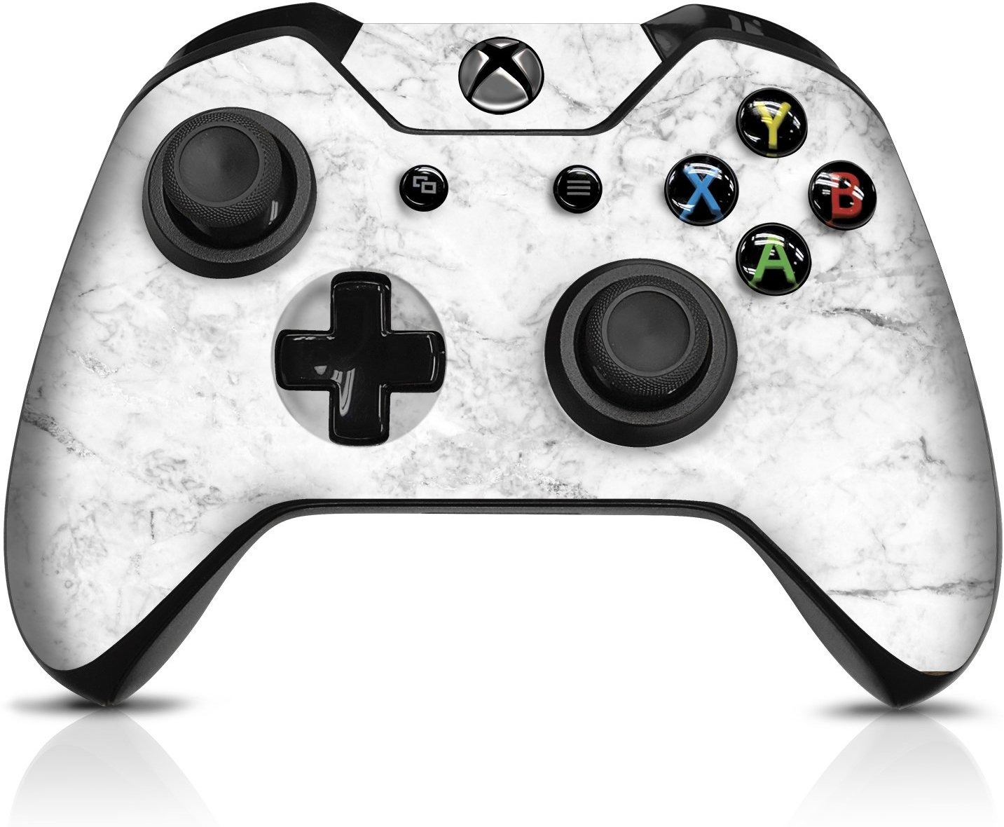 1433x1180 Controller Gear Marble Xbox One Controller Skin