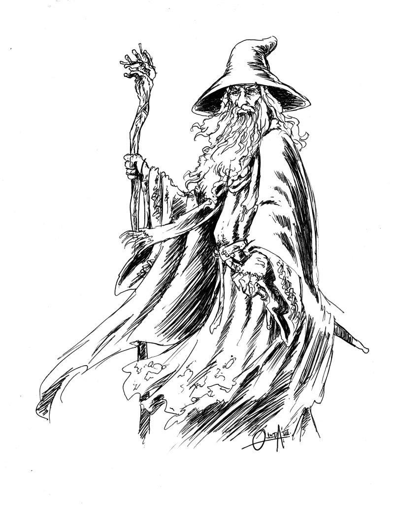 gandalf drawing at getdrawings com free for personal use gandalf