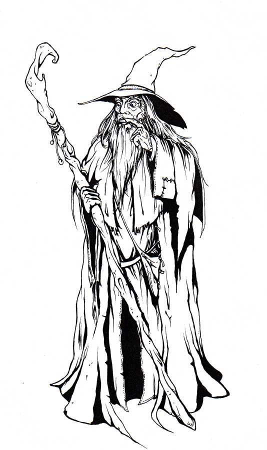 gandalf coloring pages-#17