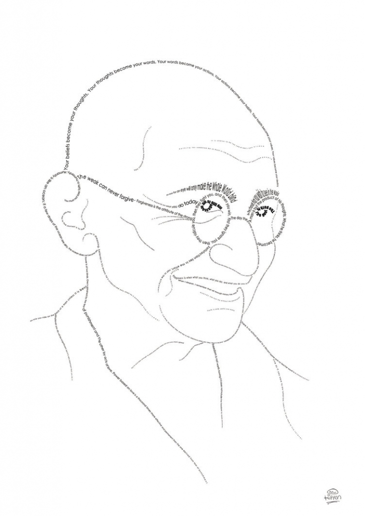 724x1024 drawing of mahatma gandhi mahatma gandhi photo drawing drawing