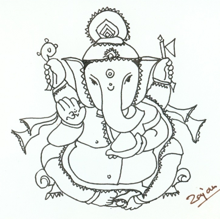 725x722 My Collections 1 Rajan Draws