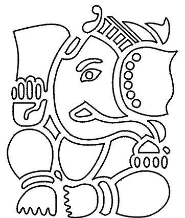 362x426 Photos Easy Sketch Of Ganesh,