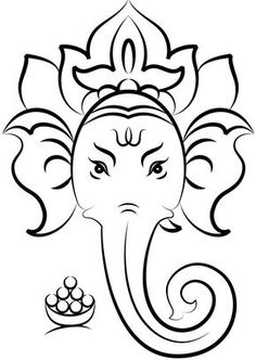 236x332 Pics For Gt Ganpati Images For Drawing Stamp Ideas