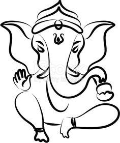 236x281 Pics For Gt Simple Ganesha Face Drawing Tats