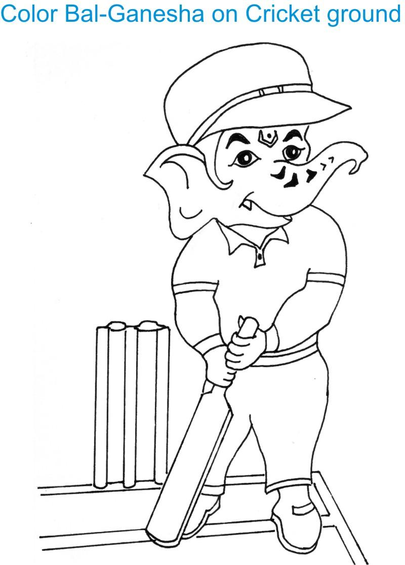Ganesh Drawing For Kids at GetDrawings.com | Free for ...