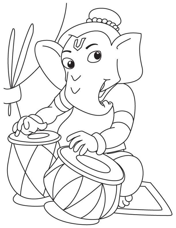 Ganesh Drawing For Kids At GetDrawings