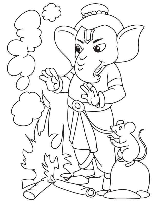 Ganesh Images For Drawing At Getdrawings Com Free For Personal Use