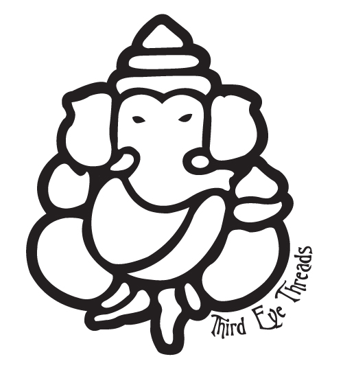 500x542 Lord Ganesh Outline Proyecto Ganesh And Outlines