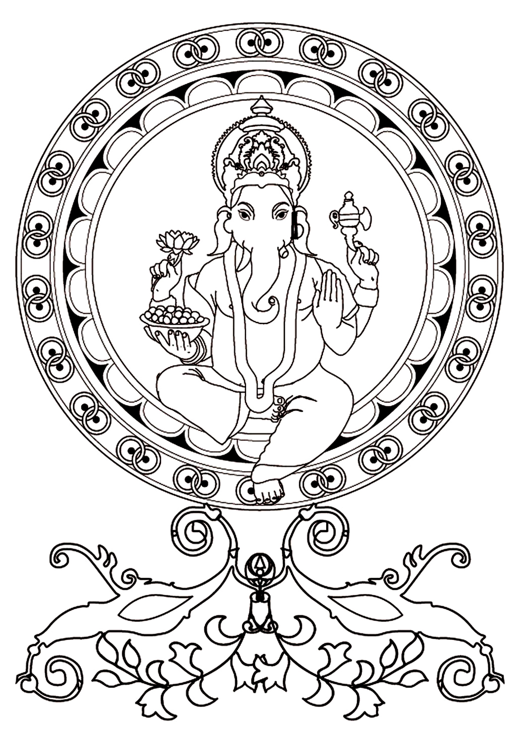 1062x1470 Ganesh India Amp Bollywood