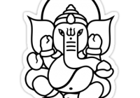 Ganesha Drawing Easy