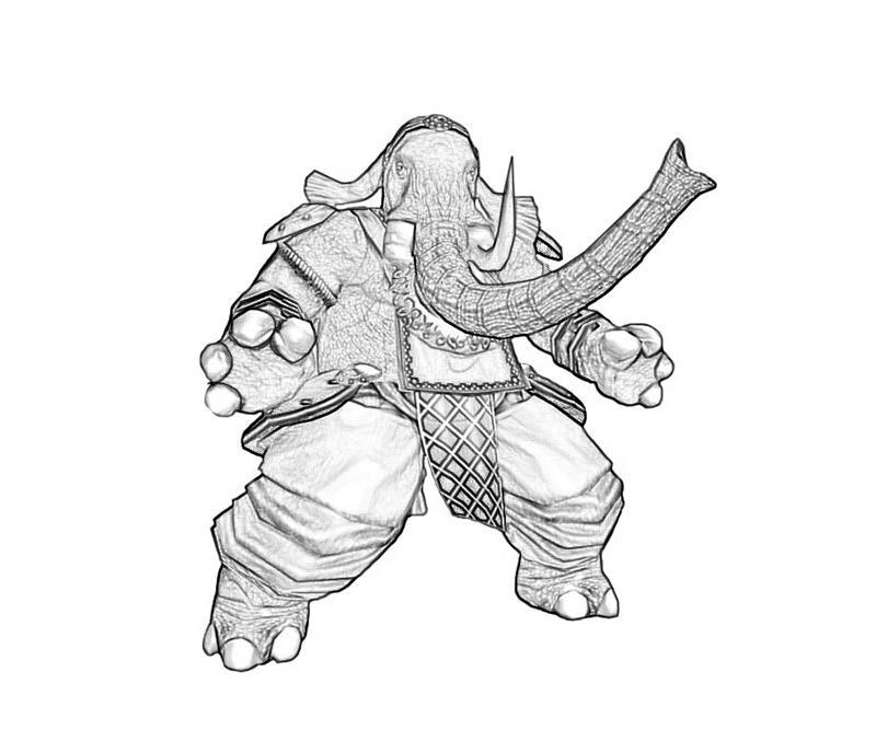 800x667 Ganesha Character Art Paper