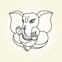 200x200 Lord Ganesha Free Vector Graphic Art Free Download (Found 102