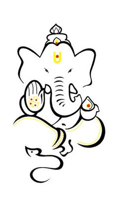 236x419 Pics For Gt Ganpati Images For Drawing Stamp Ideas