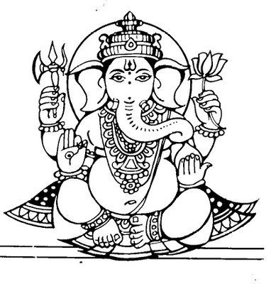 389x400 Clipart Ganesh Ji Free Download