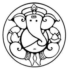 236x238 Pics For Gt Simple Ganesha Face Drawing Tats