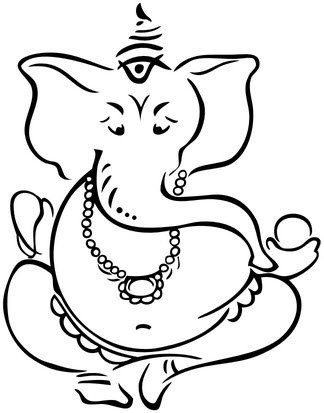 324x413 Ganesha Tattooforaweek Temporary Tattoos Largest Temporary