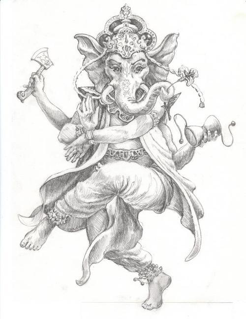 500x647 Tattoo Sketch Tattoo Ideas Sketches, Tattoo And Ganesh