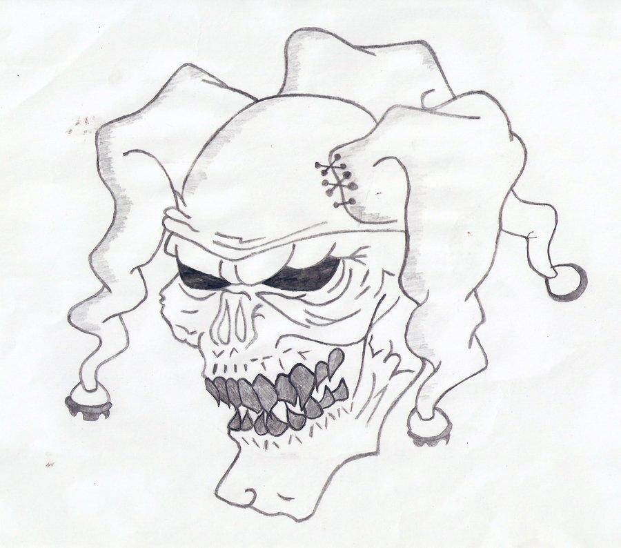 900x794 Drawn Clown Gangster