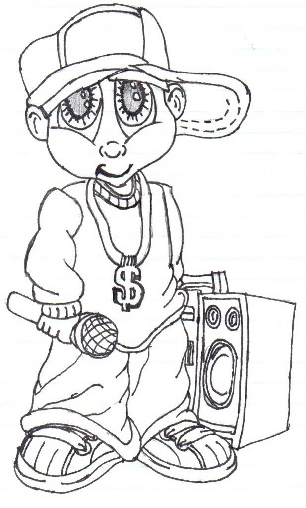 617x1023 Gangsta Cartoons Drawings Images Amp Pictures